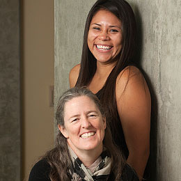 portrait: Dawn Sumner and Marisol Juarez Rivera